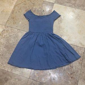 Altar'd State grayish blue off shoulder dress S